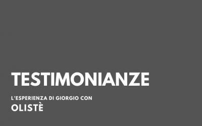 Olisté: la testimonianza di Giorgio